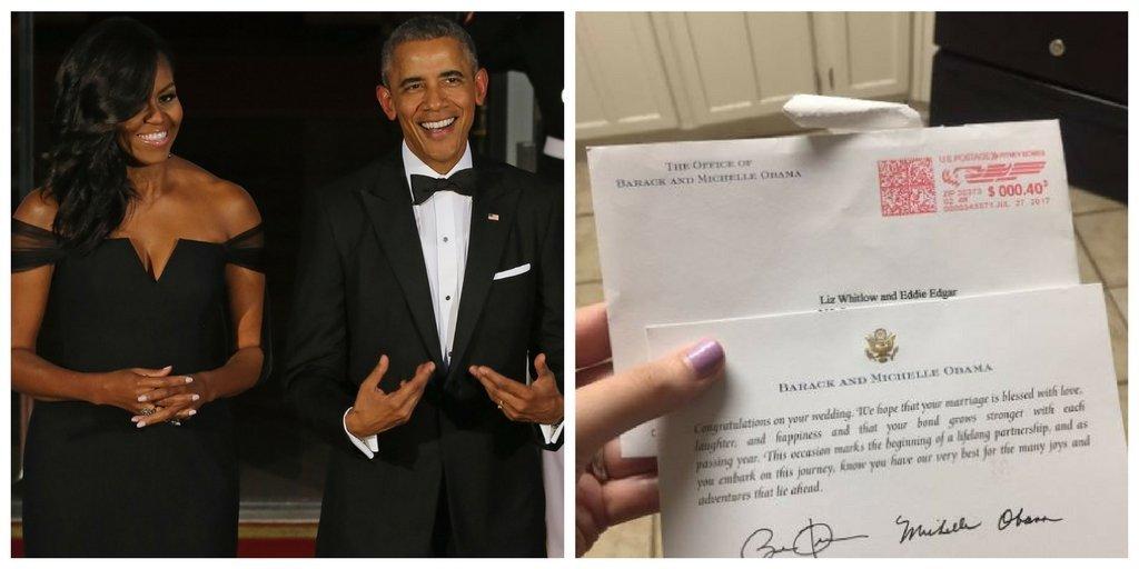 Yep, The Obamas Still Respond To Wedding Invites From Perfect