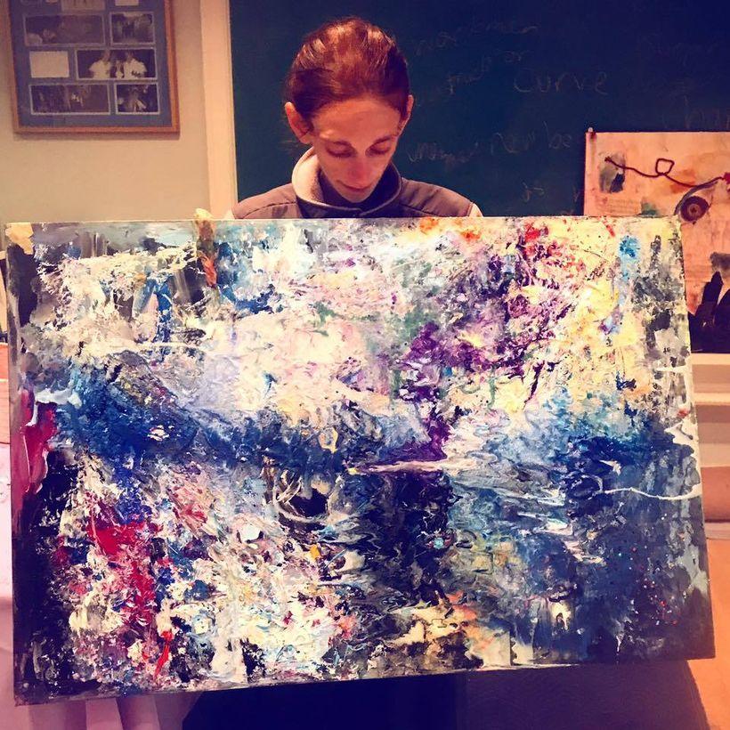 "<a rel=""nofollow"" href=""https://www.amyoes.com/art-for-sale"" target=""_blank"">My original art</a>"