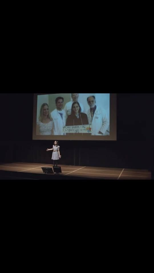 """The doctors who saved my life - and giving thanks in my<a rel=""""nofollow"""" href=""""https://amyoes.com/tedx"""" target=""""_blank""""> TEDx"""
