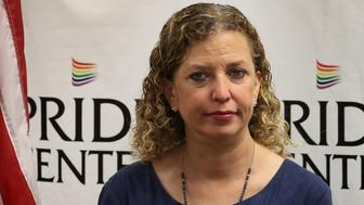 WILTON MANORS, FL - MAY 26:  Rep. Debbie Wasserman Schultz (D-FL) attends a discussion about LGBT rights at the Pride Center on May 26, 2017 in Wilton Manors, Florida.  The discussion centered around the Equality Act, a bill that hopes to amend the Civil Rights Act of 1964 to guarantee protections to LGBT individuals.  (Photo by Joe Raedle/Getty Images)