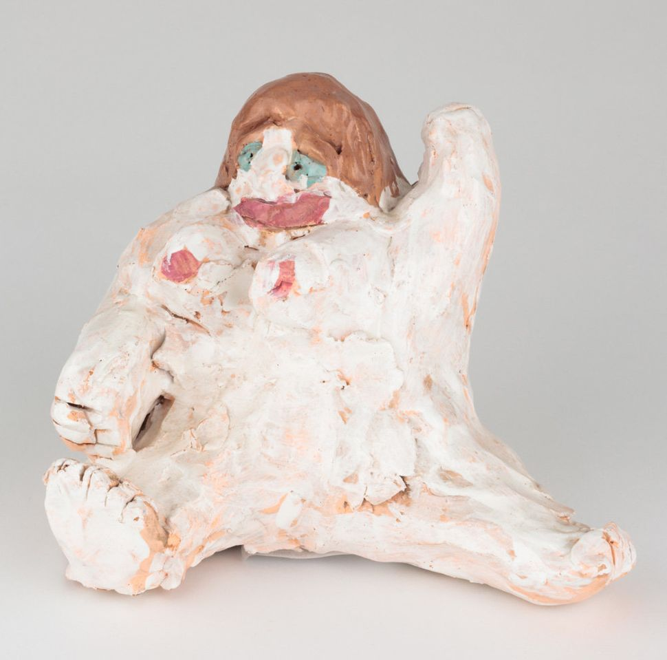 Andrew Bixler, glazed ceramic sculpture, 9 by 9 by 7 inches