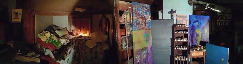 Photo of Keni Richards' residence posted on Facebook.