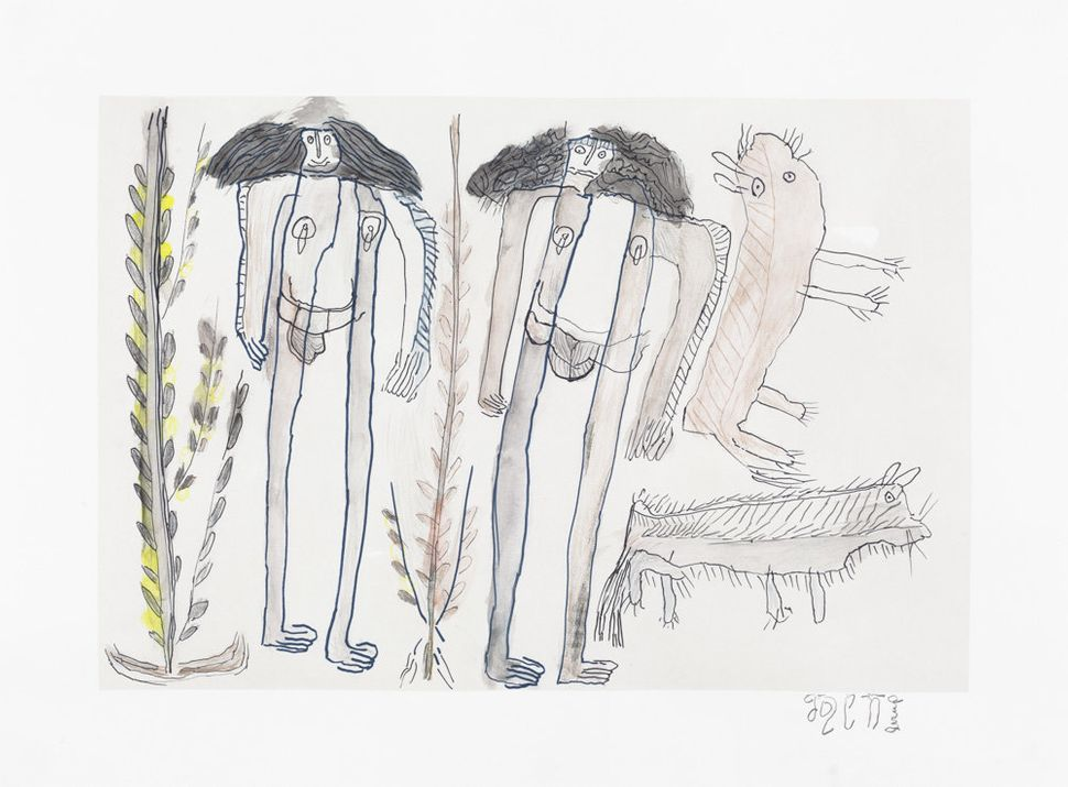 Jose Nunez,colored pencil on paper, 19 by 26.50 inches<i></i>