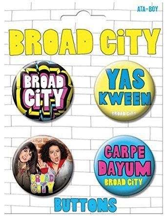 "<a href=""https://www.amazon.com/Ata-Boy-Broad-City-Collectible-Buttons/dp/B01H4RL6QI/ref=sr_1_1?amp=&ie=UTF8&keywords=broad+c"