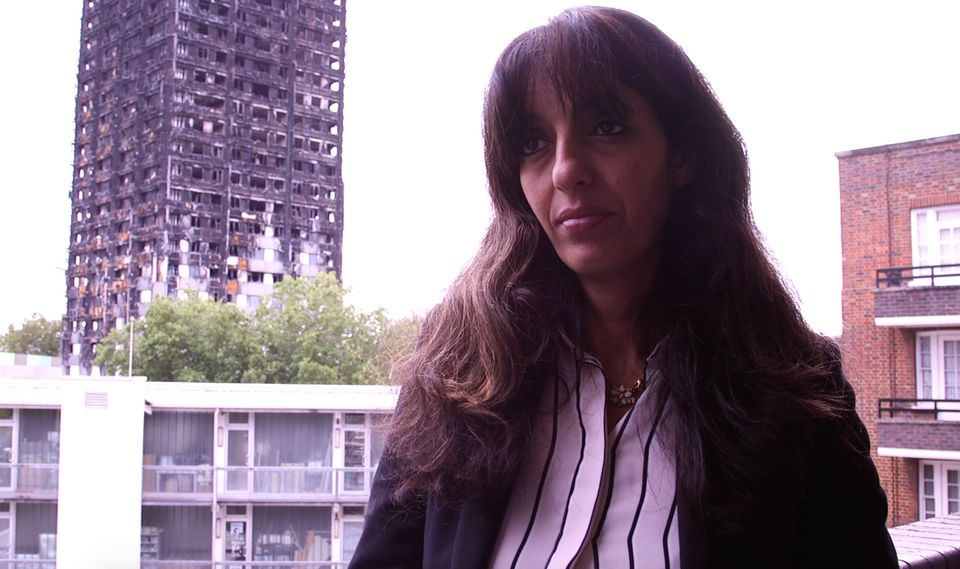 Samia Badani, chair of Bramley House Residents' Association, questions Public Health England's...