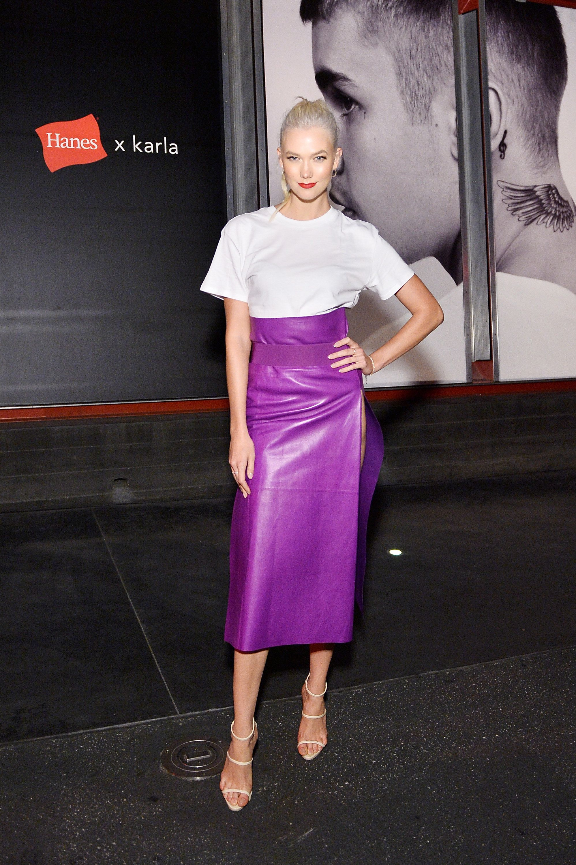 LOS ANGELES, CA - AUGUST 03:  Karlie Kloss at x karla Launch Party at Maxfield on August 3, 2017 in Los Angeles, California.  (Photo by Stefanie Keenan/Getty Images for x karla)