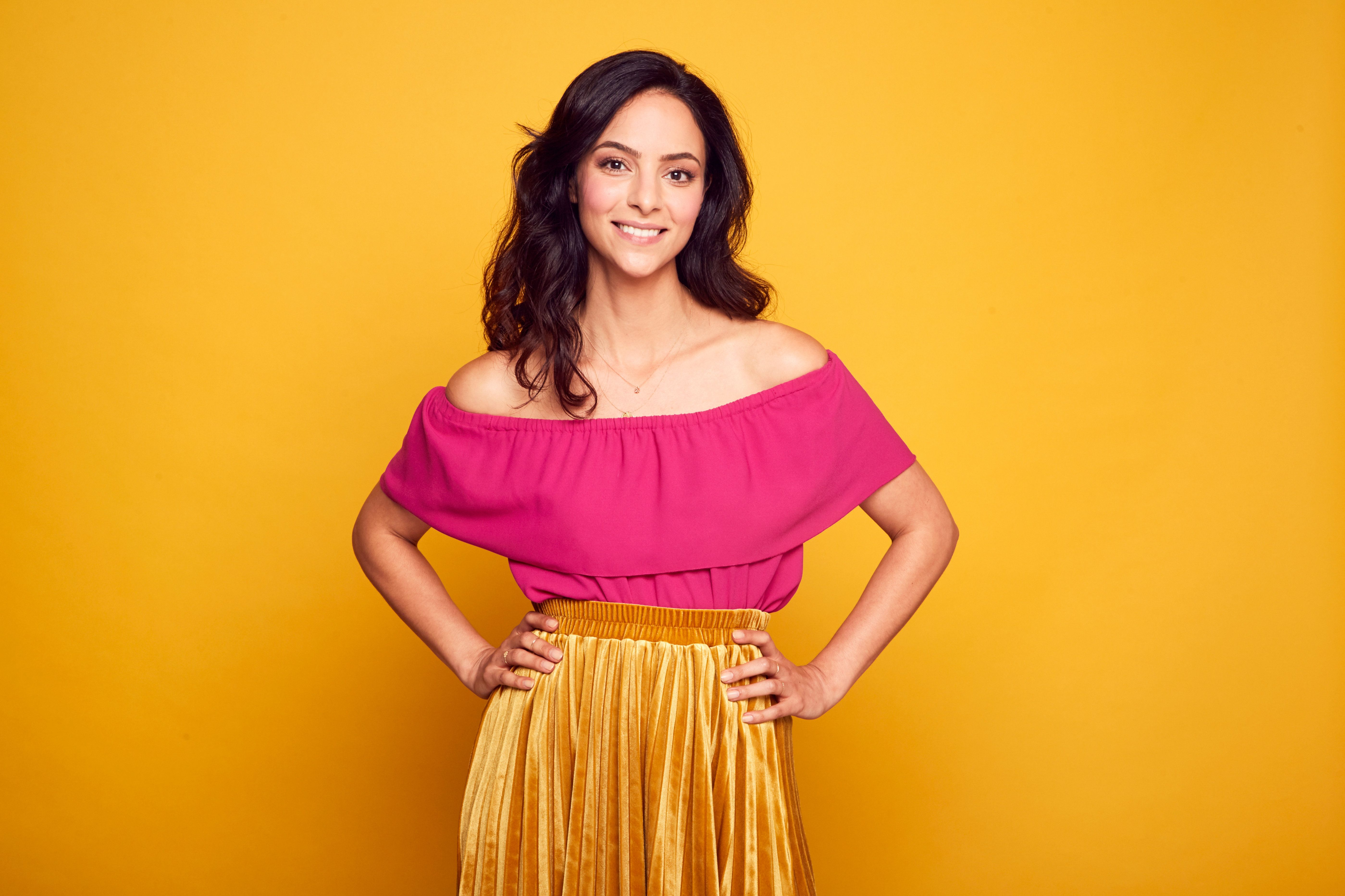 Actor Tala Ashe of CW's 'DC's Legends of Tomorrow' poses for a portrait during the 2017 Summer Television Critics Association