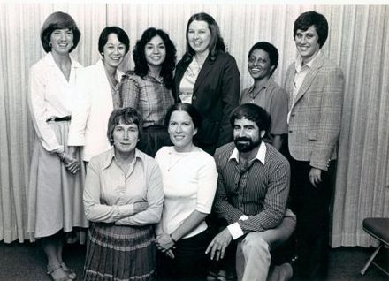 1980 National Advisory Women Veteran Committee with Shad Meshad, then Director of the Western US Vet Centers and currently Pr