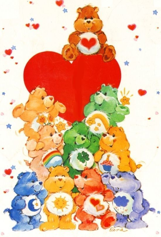 photograph regarding Care Bear Belly Badges Printable named The Treatment Bears: 35 Yrs of Caring HuffPost