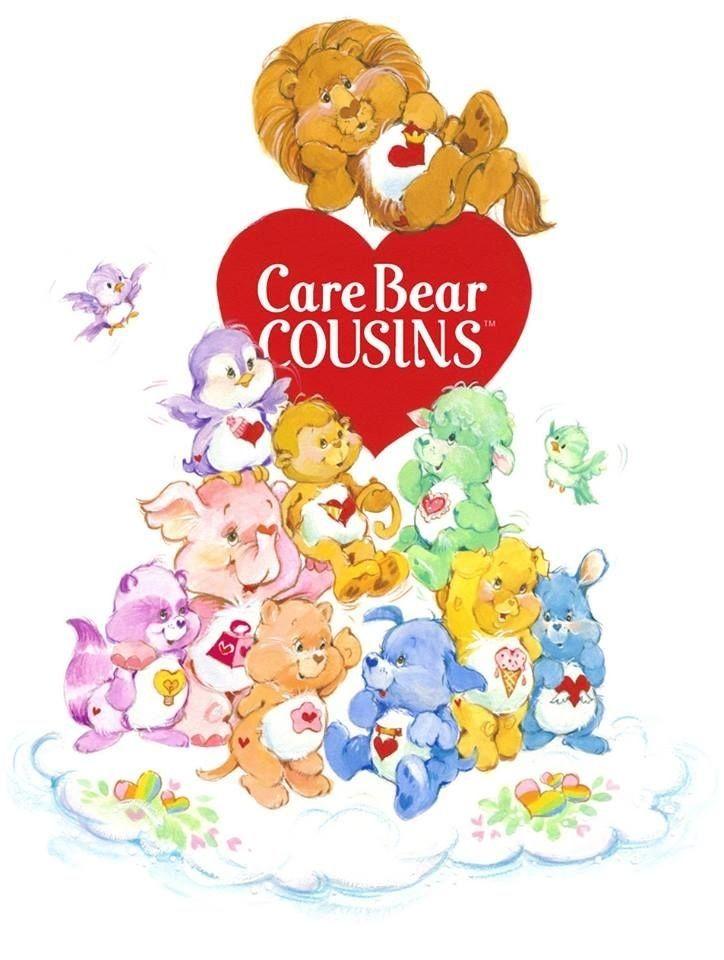 The Original Care Bear Cousins