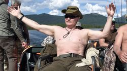 Vladimir Putin's Bare-Chested Vacation Snap Becomes Summer's Best