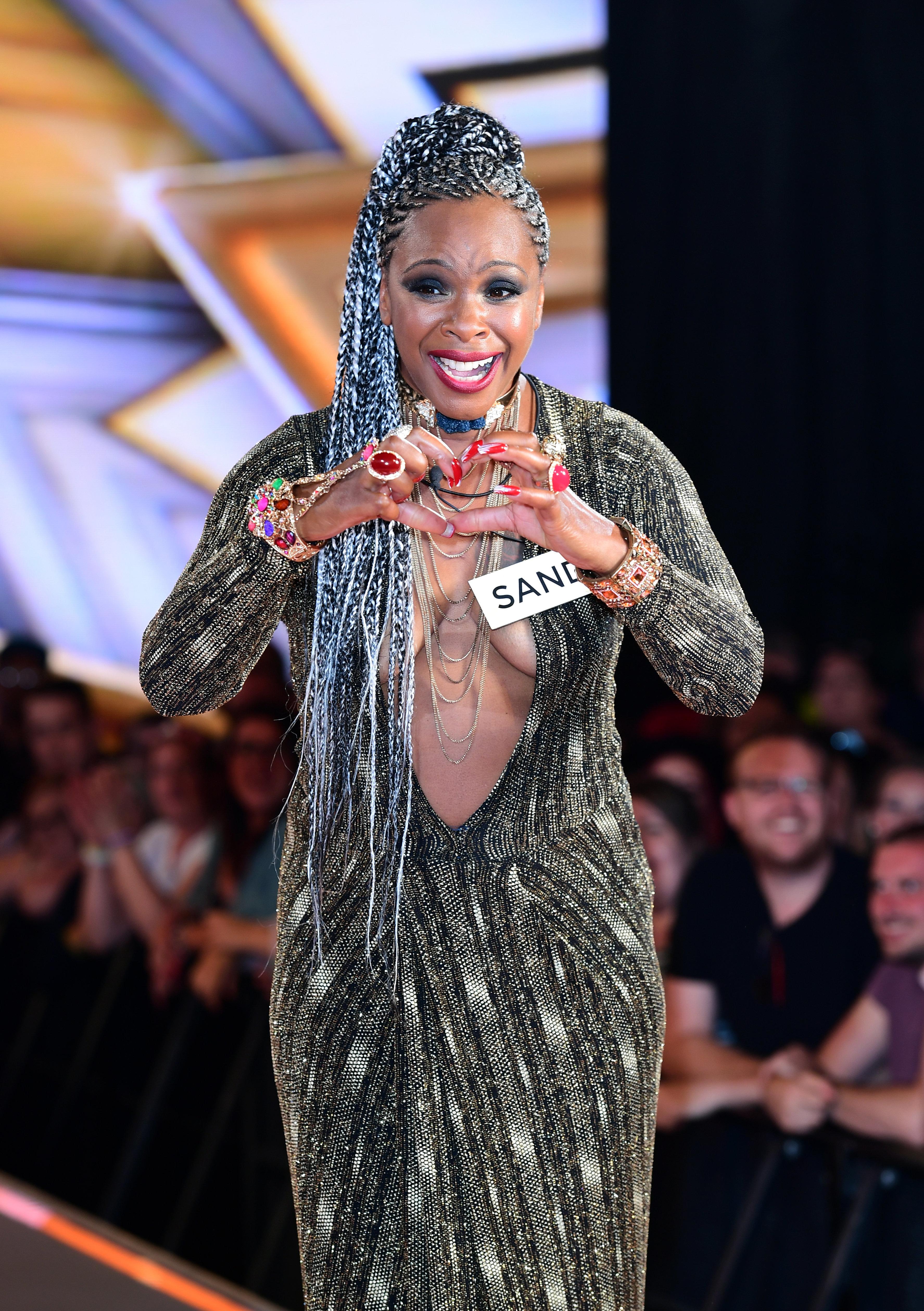 Sandi Bogle made a shock revelation on 'Celebrity Big