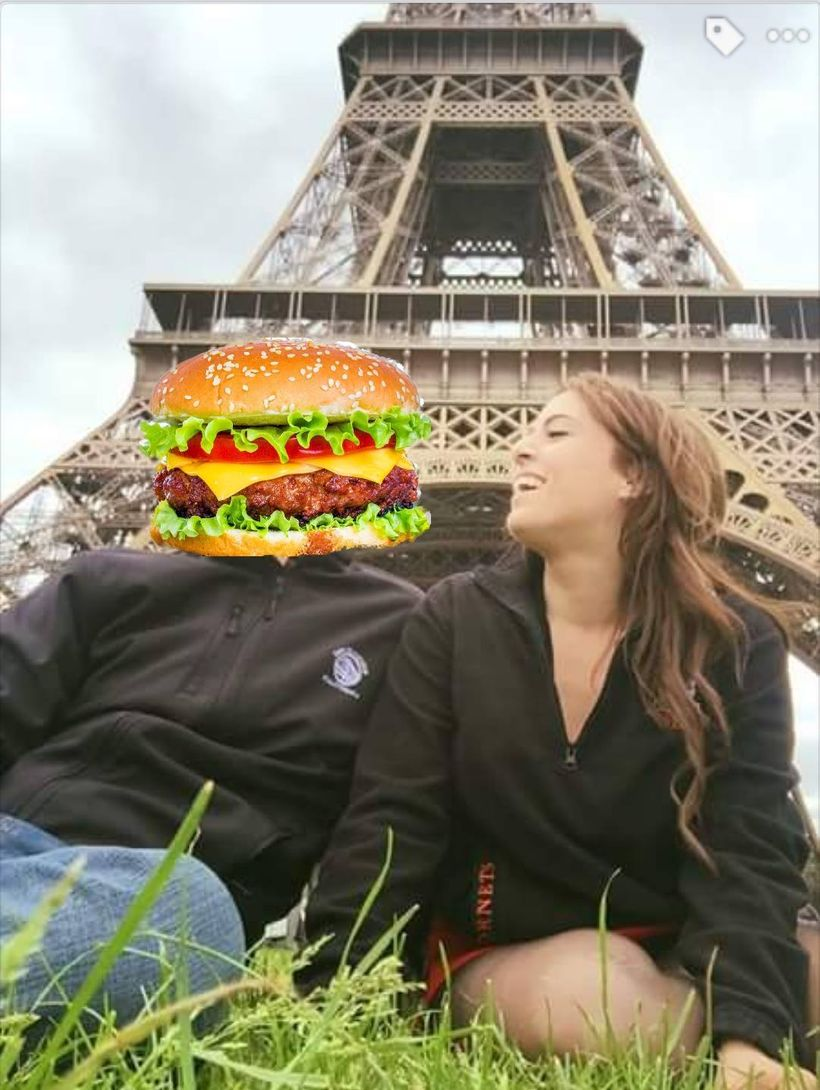 <strong>Sometimes I look at burgers like that too.</strong>