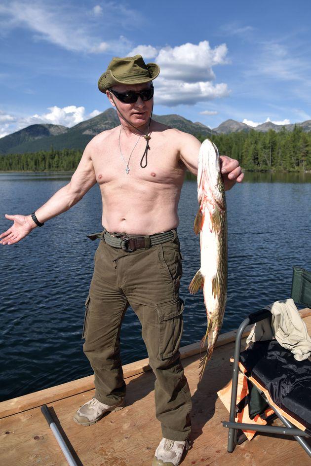 Vladimir Putin's Siberia Holiday Snaps Prove He's Still A Very Macho