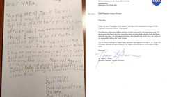 NASA Responds To 9-Year-Old Who Applied To Be A Guardian Of The