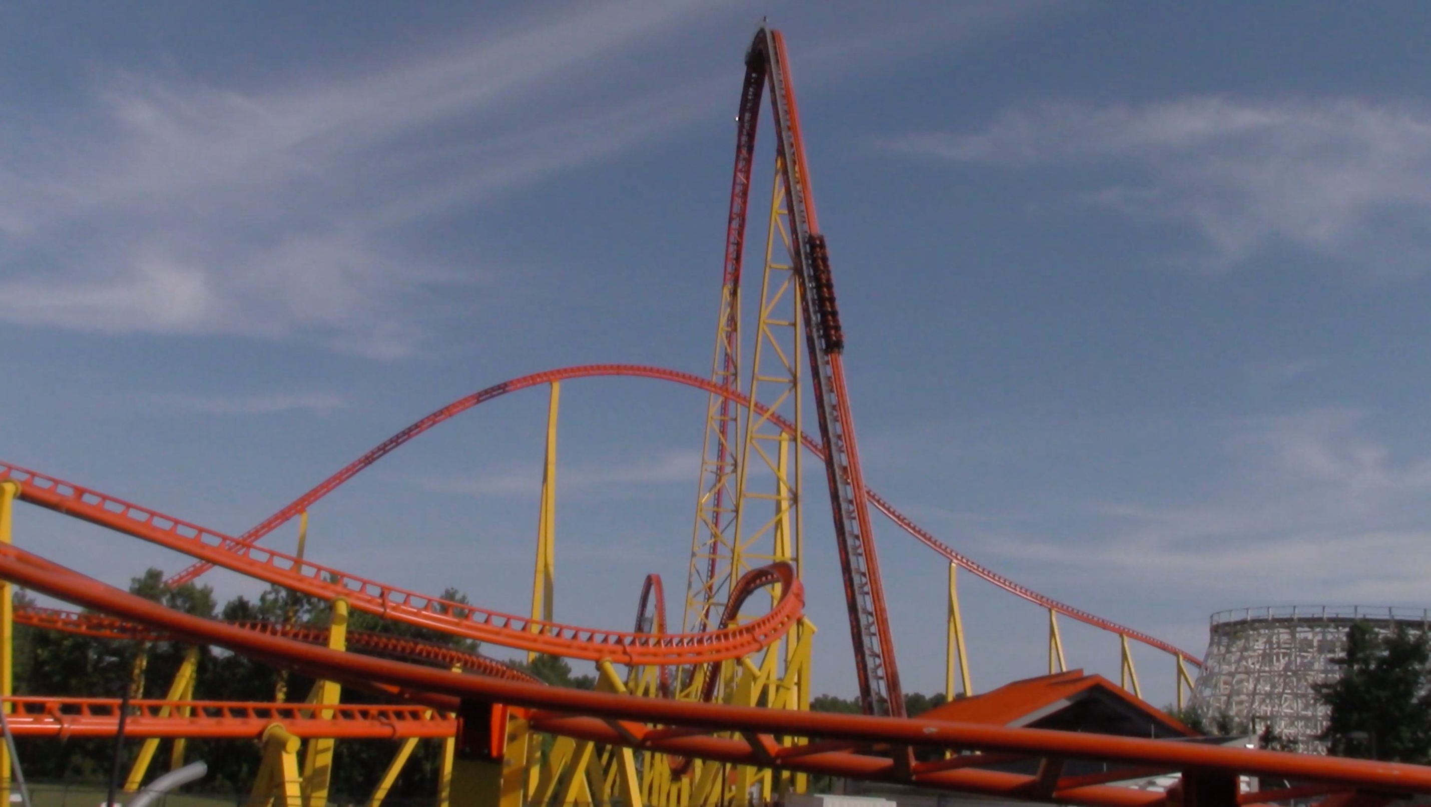 Intimidator 305, The Current Tallest Coaster In Virginia, Located At Kings  Dominion