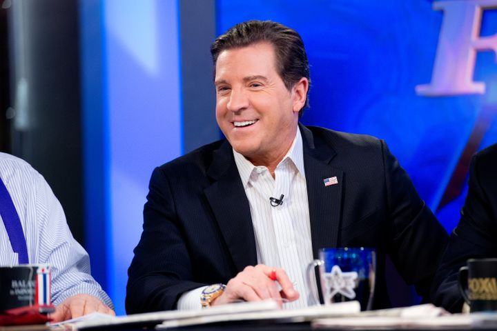 "Eric Bolling attends Fox News' ""The Five"" on Feb. 26, 2014, in New York City."
