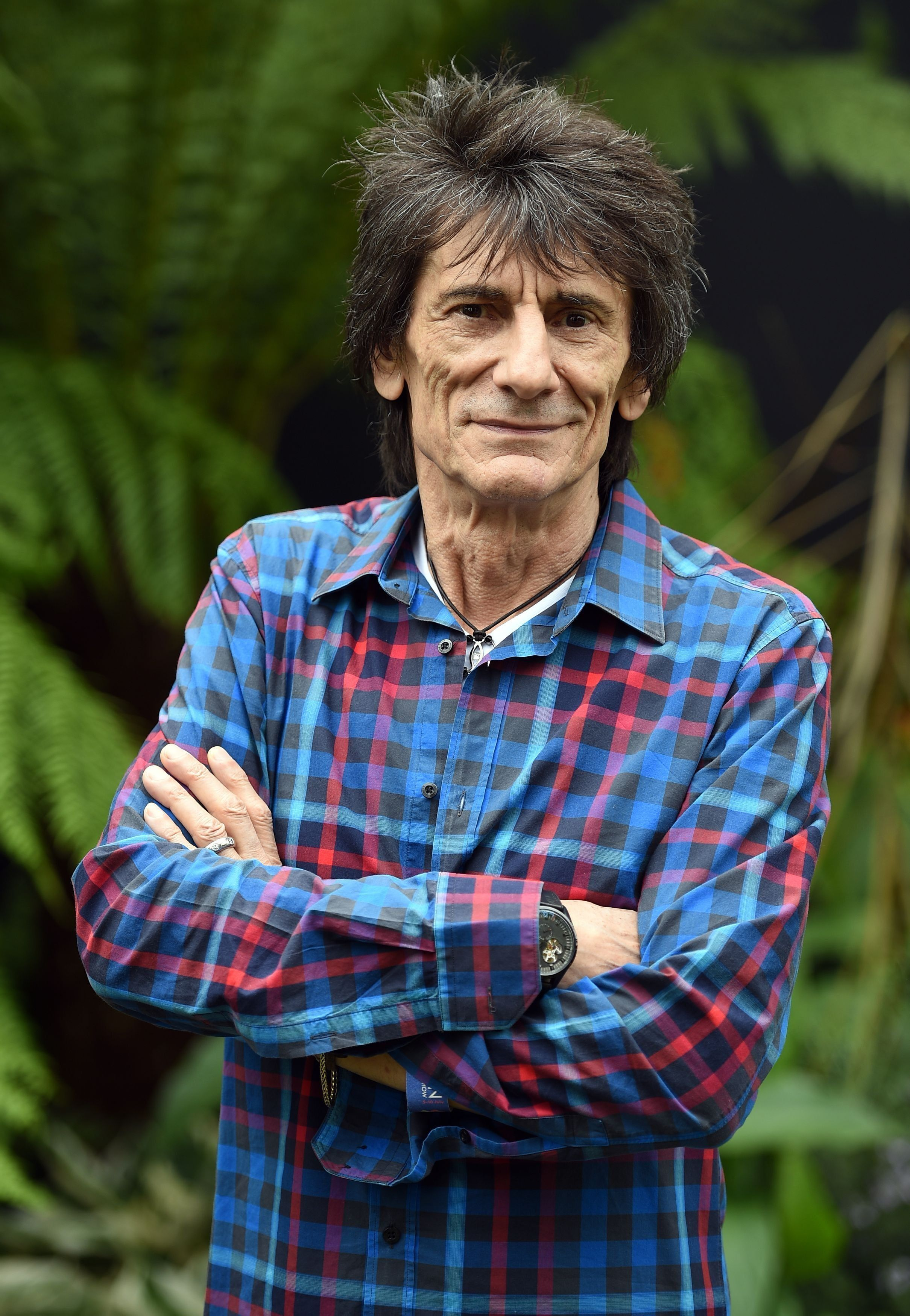 Ronnie Wood Reveals Lung Cancer
