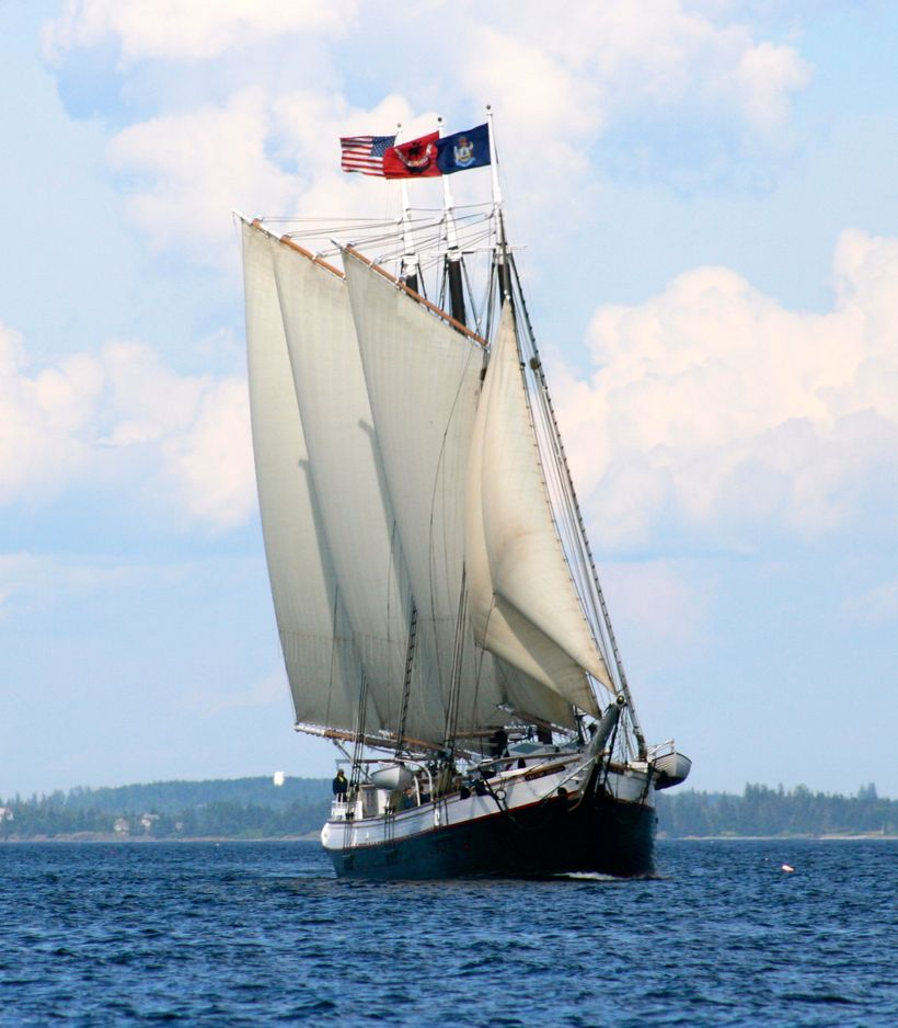Victory Chimes, Maine Windjammer