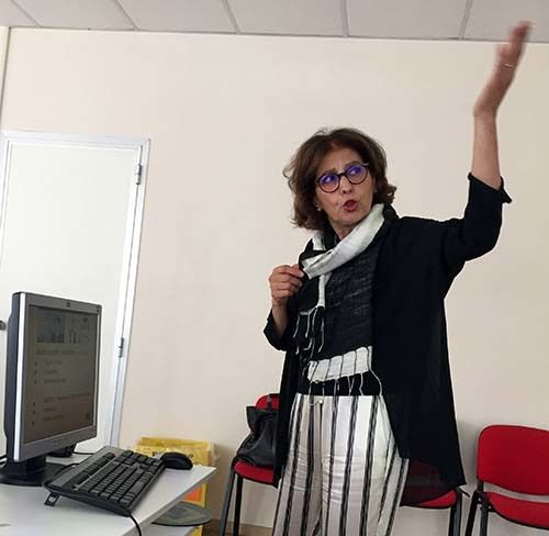 <em>ITC-ILO&#39;s Jeannette Shalabi (Abu-Fadil)</em>