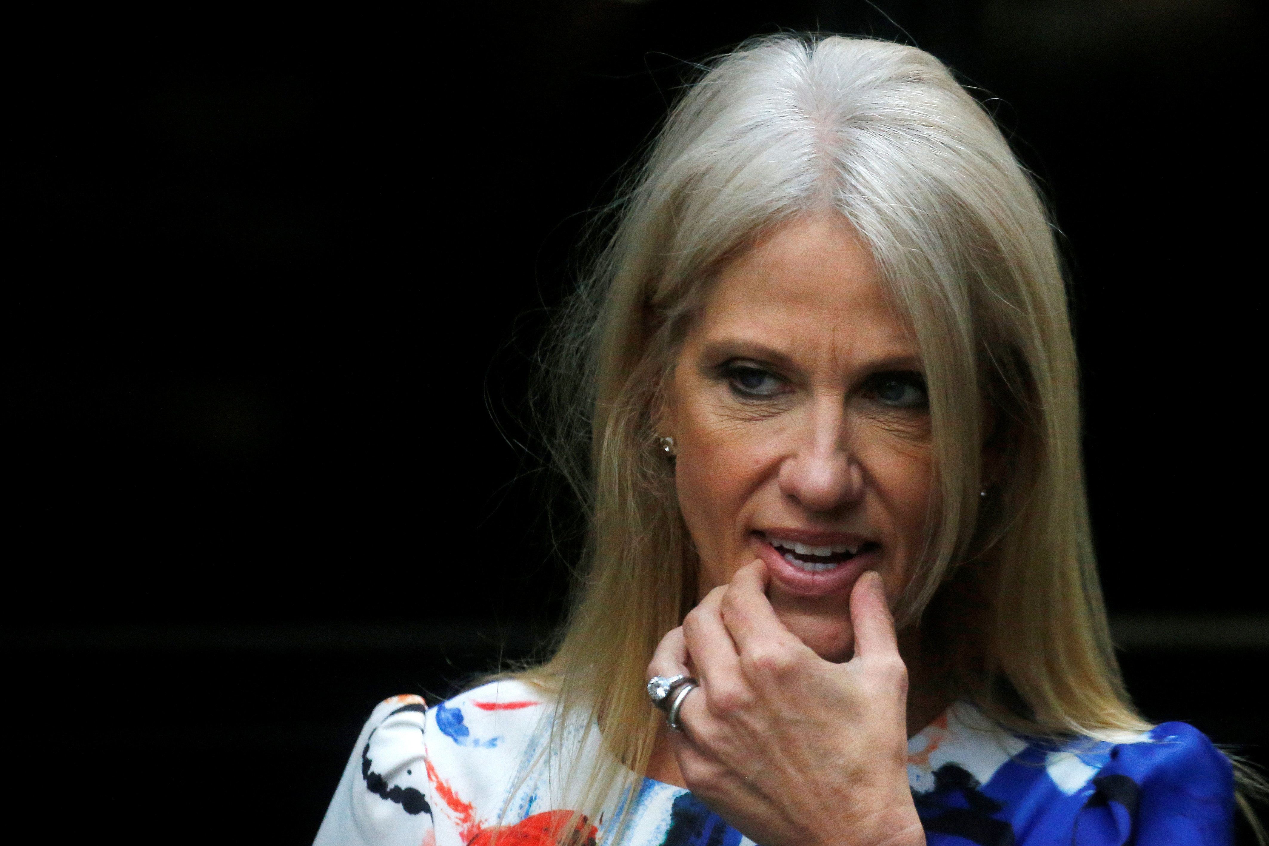 Kellyanne Conway finally admitted the truth. President Trump's approval numbers are