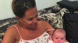 Danielle Lloyd's Fans Assume She's Ready To Give Birth After Seeing Snap Of Bare Baby