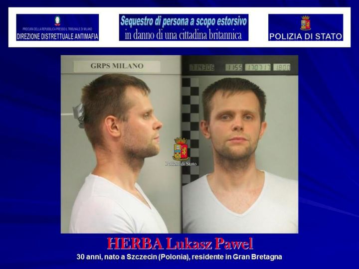 Lukasz Pawel Herba has been arrested on suspicion of kidnap and extortion