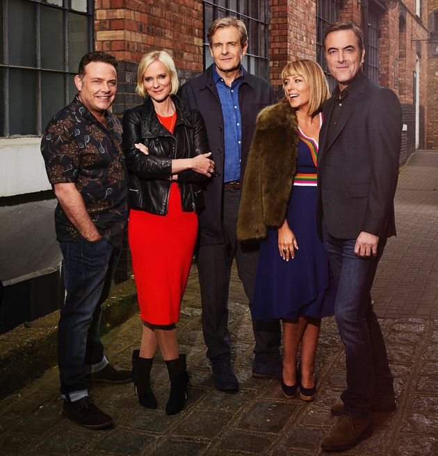 The main 'Cold Feet' cast