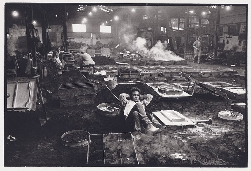 FOUNDRY WORKER, BIRMINGHAM (1972) PAUL HILL