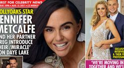 Jennifer Metcalfe Introduces Newborn Son To The World And Reveals His Unusual