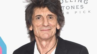 NEW YORK, NY - NOVEMBER 15:  Ronnie Wood of The Rolling Stones attends The Rolling Stones Exhibitionism opening night at Industria Superstudio on November 15, 2016 in New York City.  (Photo by Gary Gershoff/WireImage)