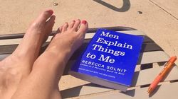 Woman's Post About Being Manterrupted While Reading 'Men Explain Things To Me' Goes