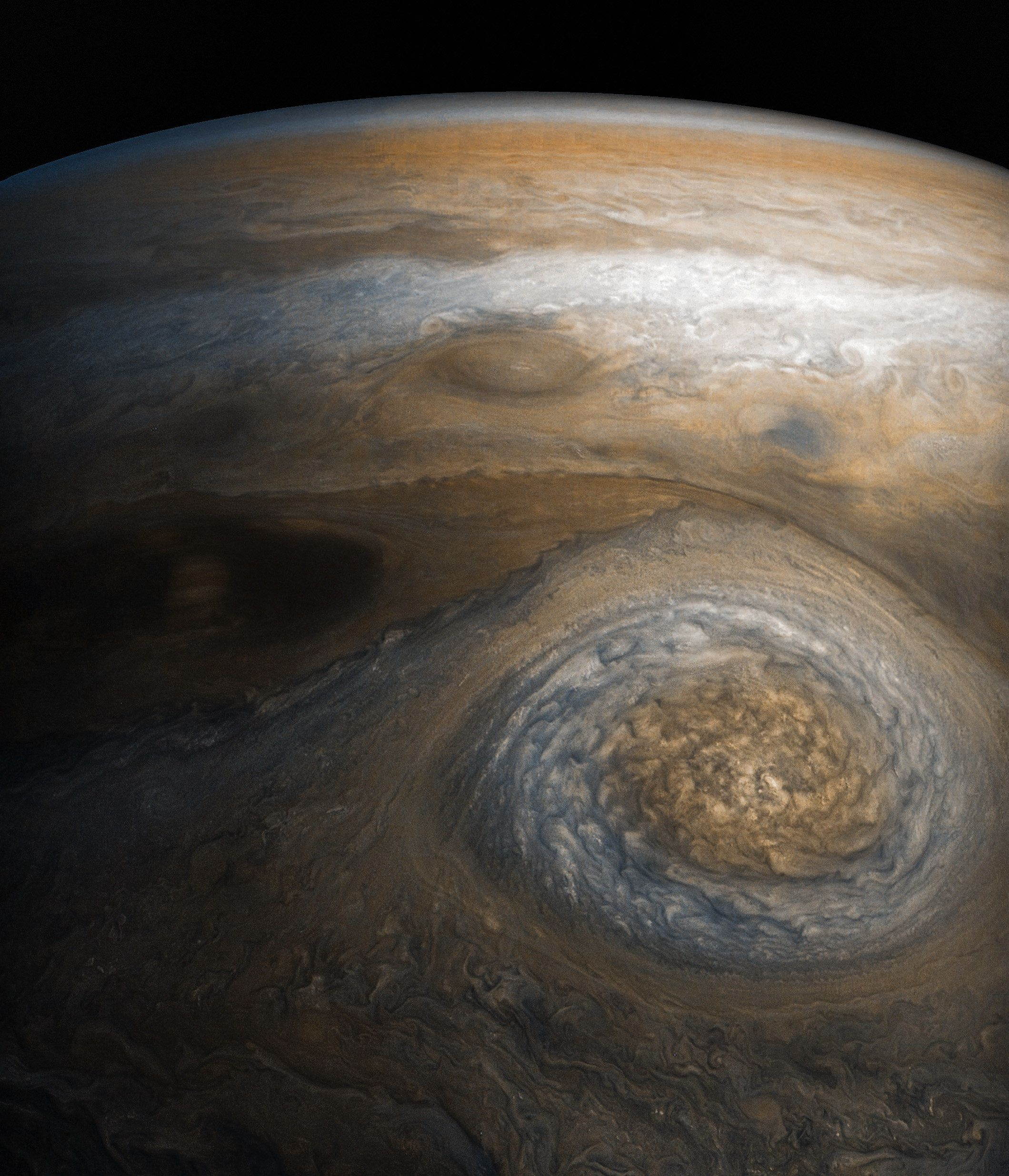 NASA's Dramatic New Image Of Jupiter's 'Little Red Spot' Is