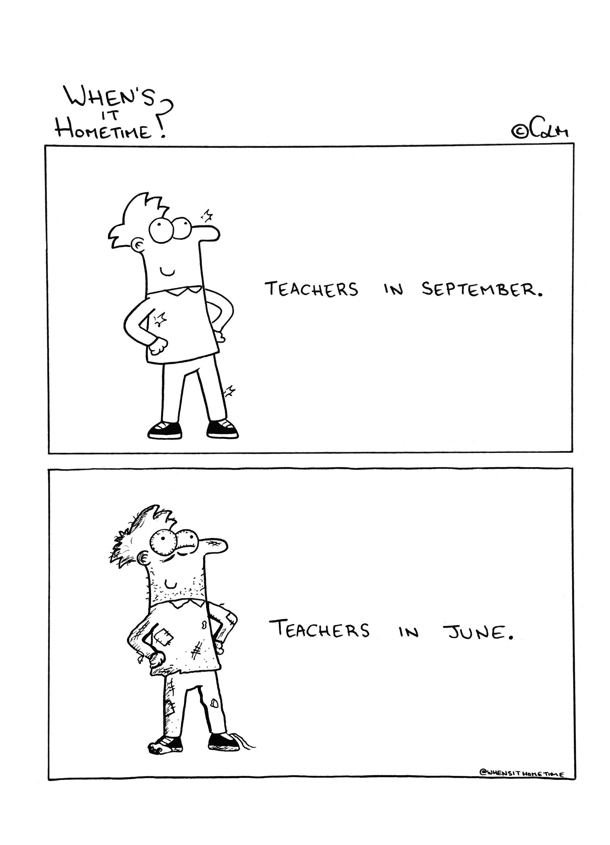 Teacher Draws Hilarious Comics About Dealing With Kids