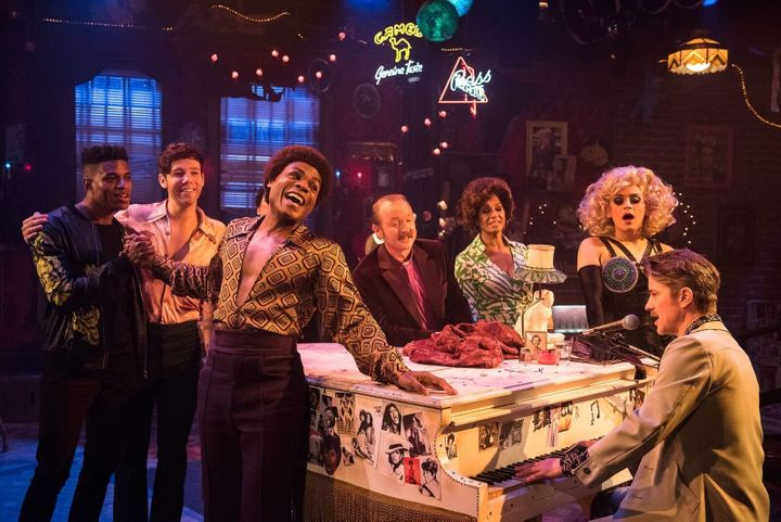 """The Off-Broadway cast recording of """"The View UpStairs"""" hits retailers Aug. 11."""