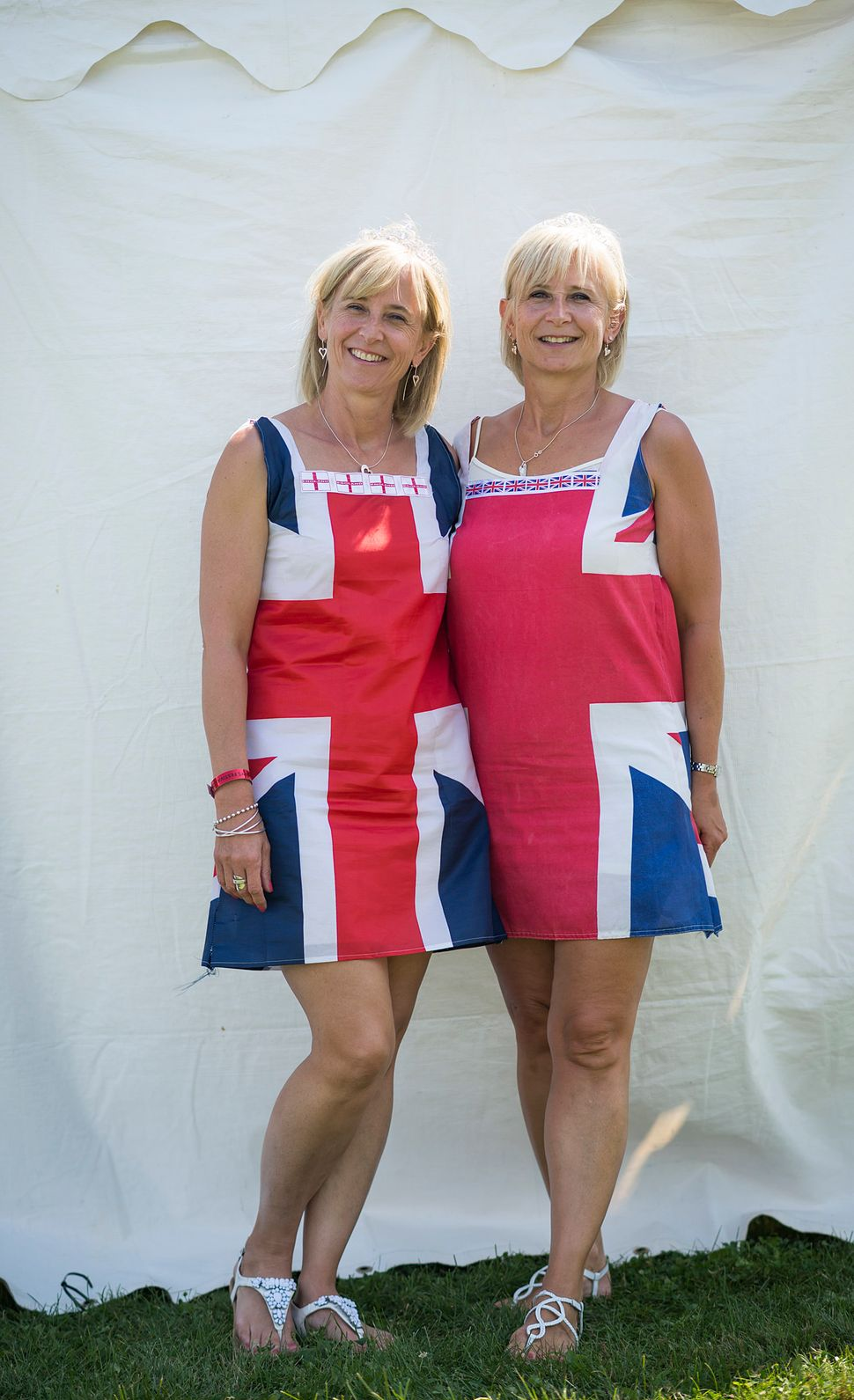 Donna (left) and Melanie Batherhail from the United Kingdom.