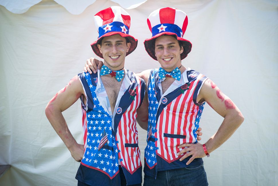 Max(left) and Zac Prizant come from Youngstown, Ohio.