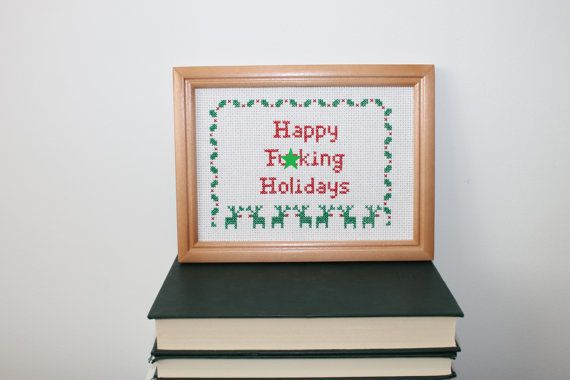 """<a href=""""https://www.etsy.com/listing/474105271/sale-finished-happy-holidays-cross?ref=related-6"""" target=""""_blank"""">Check it ou"""