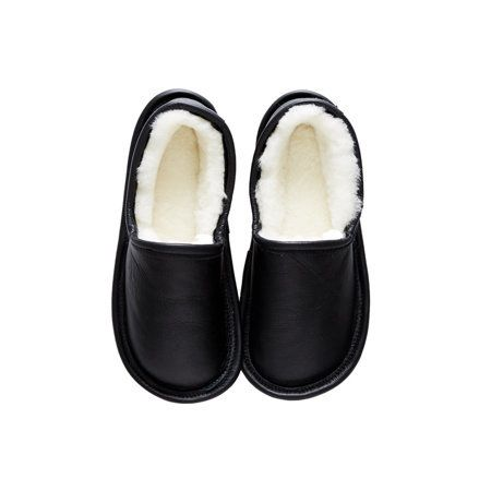 "<a href=""https://www.etsy.com/listing/485656193/mens-slippers-black-leather-interior"" target=""_blank"">Shop them here.</a>"