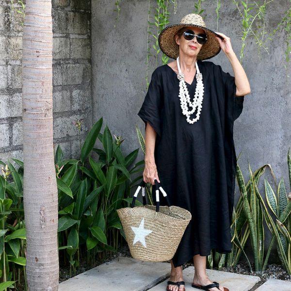 "Get <a href=""https://www.etsy.com/listing/510580658/linen-caftan-kaftan-midi-resort-wear?ref=market"" target=""_blank"">My Bali"