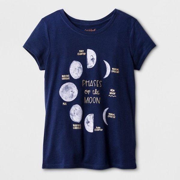 "$5.00, Target's Cat & Jack Line. <a href=""https://www.target.com/p/girls-short-sleeve-moon-graphic-t-shirt-cat-jack-153-n"