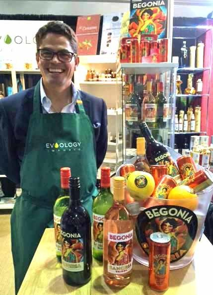Begonia Sangria's Patrick Mata at the Summer Fancy Foods Show