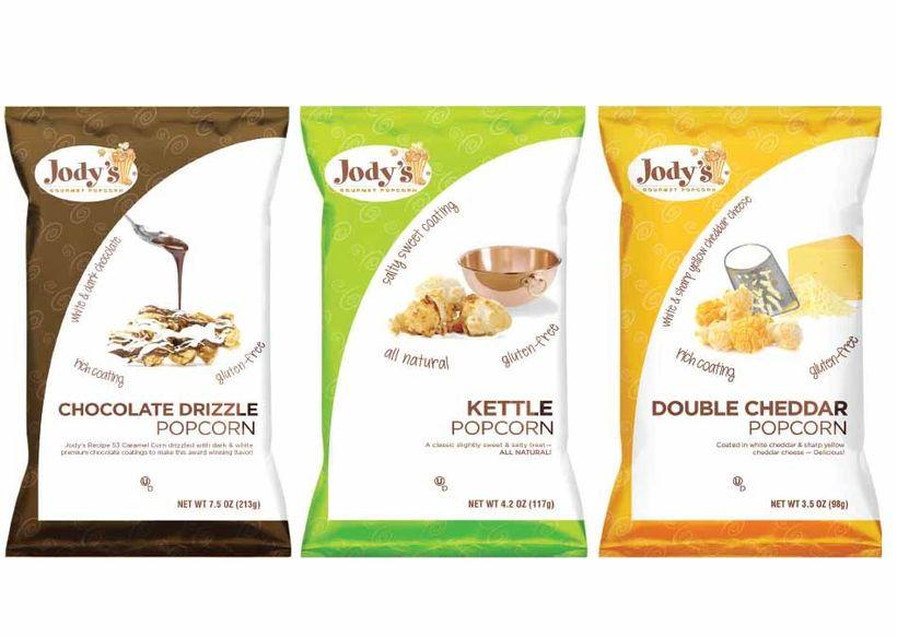 Jody's Popcorn uses all Non-GMO corn kernels