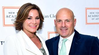NEW YORK, NY - APRIL 03:  LuAnn de Lesseps and Tom DÕAgostino Jr. attend the New York Academy of Art Tribeca Ball Honoring Will Cotton at New York Academy of Art on April 3, 2017 in New York City.  (Photo by Sean Zanni/Patrick McMullan via Getty Images)