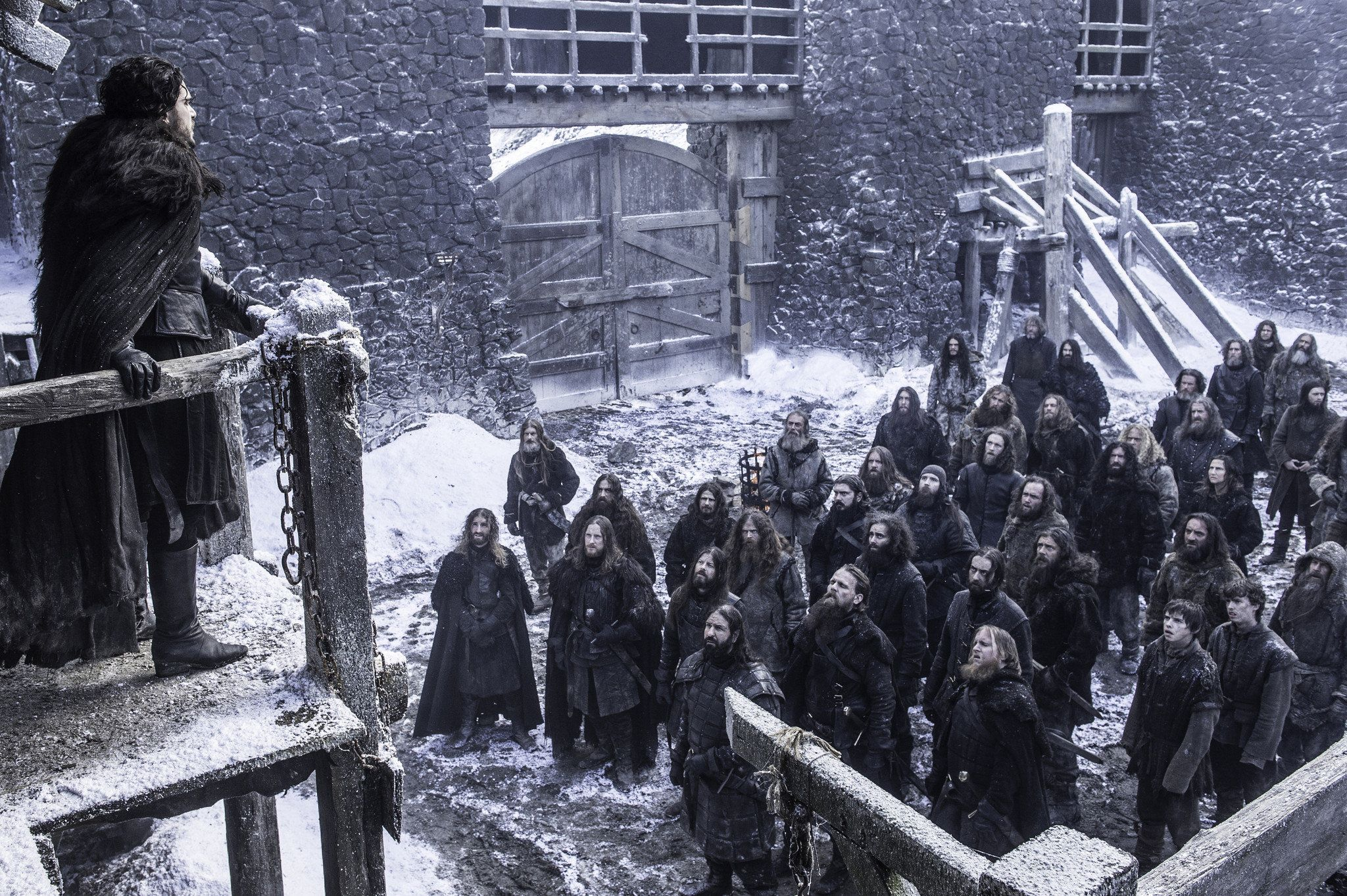 The Night's Watch Capes On 'Game Of Thrones' Are Just Ikea