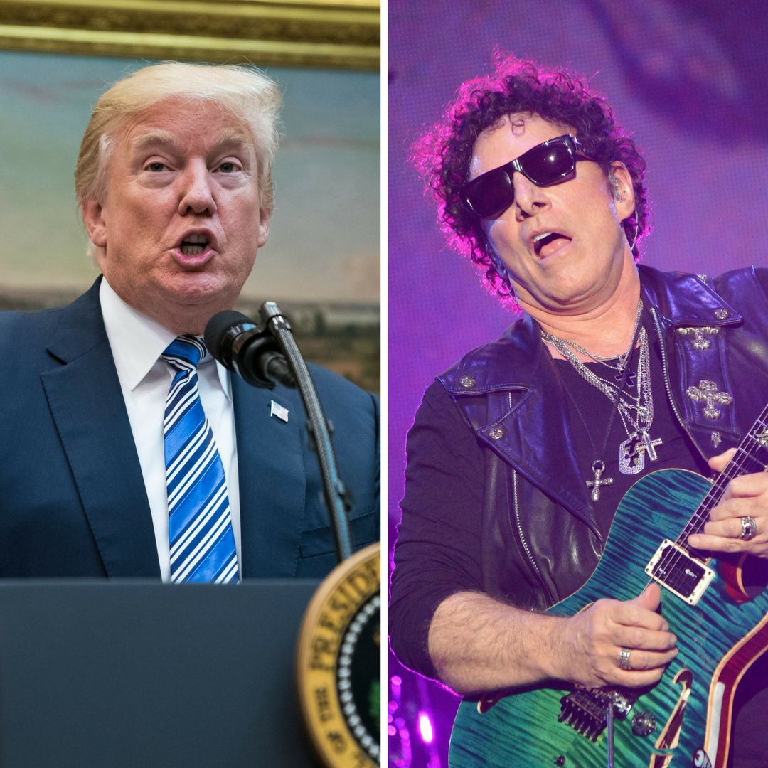 Journey founding member Neal Schon called out his bandmates after they paid a visit to The White House.
