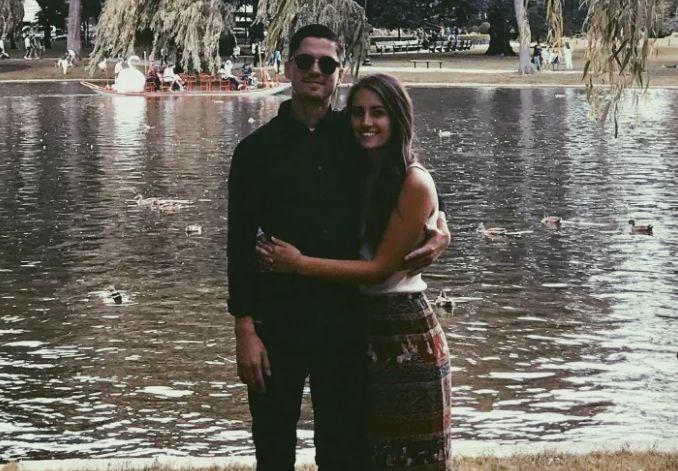 Reece Lagunas with Ramos.