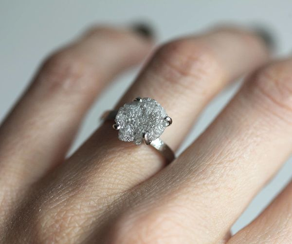 17 Raw Stone Engagement Rings That Will Appeal To The. Decent Rings. Unique Style Wedding Rings. Flower Cut Engagement Rings. 1 Year Baby Rings. 3.5 Wedding Rings. Sky Blue Topaz Rings. Shared Prong Rings. Minimalist Engagement Rings
