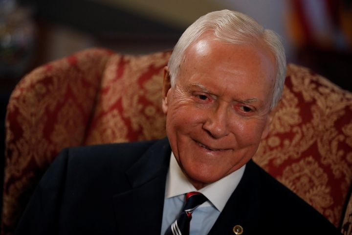 """Yes, Sen.Orrin Hatch(R-Utah) said """"they shot their wad."""" No, it doesn't mean what you think it does. Not in this"""