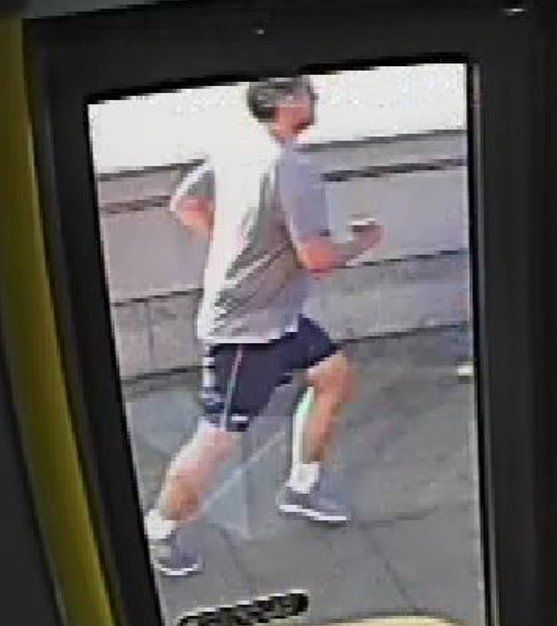 Police launched an appeal to find the jogger earlier this